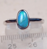 Black-Opal Ring 925 SS - Video